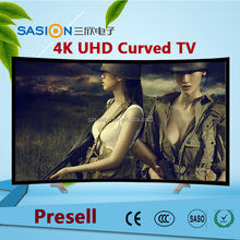 Presell! 55 inch 4k uhd hd 65 inch big size smart led screen curved tv