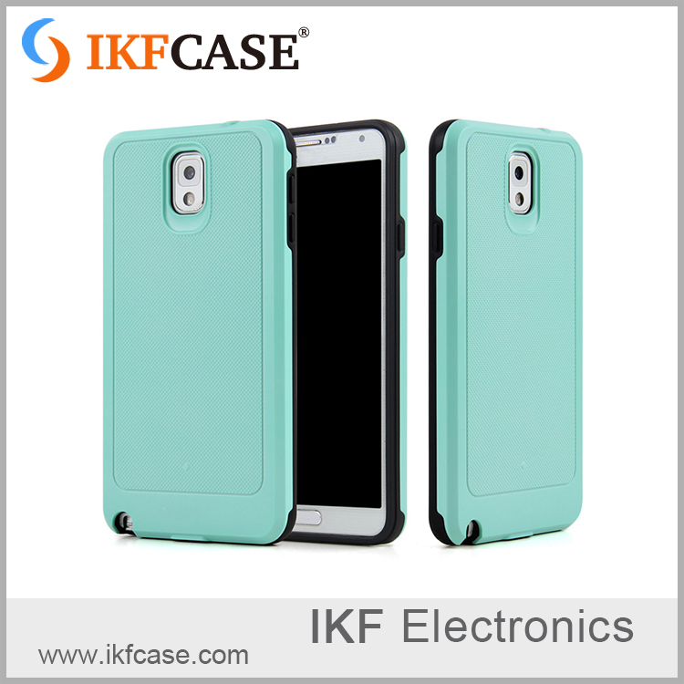 Hybrid TPU and PC cover different colors for samsung note 3 case