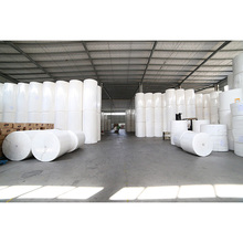 Virgin wood tissue paper toilet roll manufactor