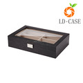 6 Pcs Eyewear sunglasses Jewelry Watches Display Storage Case display case