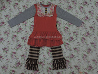 persnickety fall clothing set baby girl boutique cotton thankgivings outfits wholesale baby girls cotton outfits