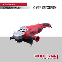 "9"" 230mm 2500W Angle Grinder WORCRAFT AG25-230"