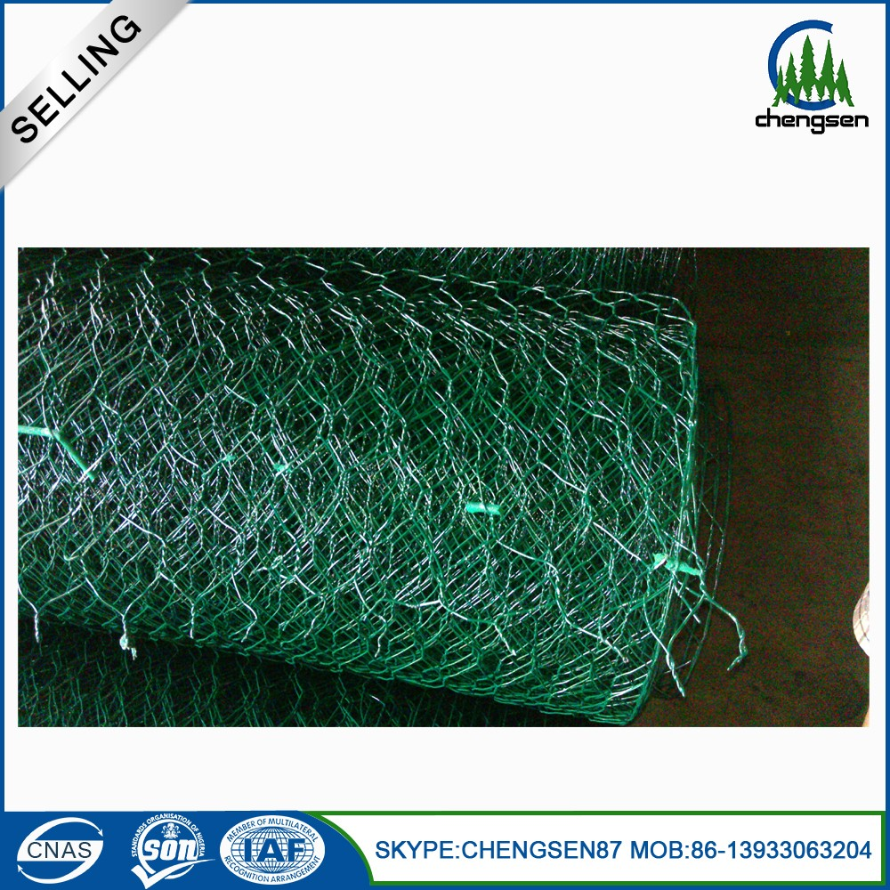 pvc coated hexagonal wire mesh/chicken house/rabit netting rabbit fencing plastic