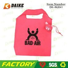 Hot Popular Personalized Nylon Portable cheap reusable shopping bags wholesale DK-NU041