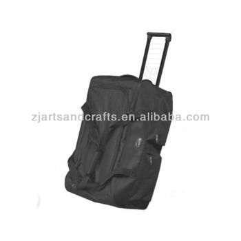 600D Polyester Duffel Sport Bag with wheel
