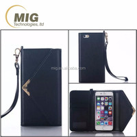 NEW for iphone 6 & 6 plus phone case PU leather case