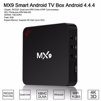 RK3229 Quad Core MX9 4K Android MX9 TV Box Porn Best Android TV Box Arabic Channels Video Android TV Box