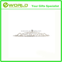 Wholesale Personalized Stylish Princess Crystal Austrian Rhinestone Tiara Small Hair Comb Crown