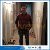 Easy fast installation sandwich wall panel with eps cement