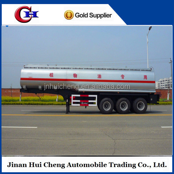 Chinese fuel oil delivery tank tractor trucks,trailer with FUWA 13Ton axle