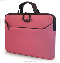 New fashion neoprene 15 inch laptop bag professional business style laptop computer bags with handle