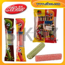 SK-R084 SOUR FRUIT CHEW BARS CANDY