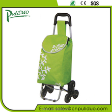 Promotional Cheap 600D Oxford Foldable Trolley Shopping Bags Wholesale