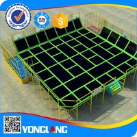 Top quality professional wenzhou factory adult indoor trampoline for sale