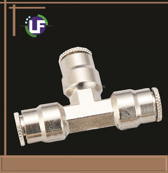 "3/8"" Quick Coupling Slip lock Tee"