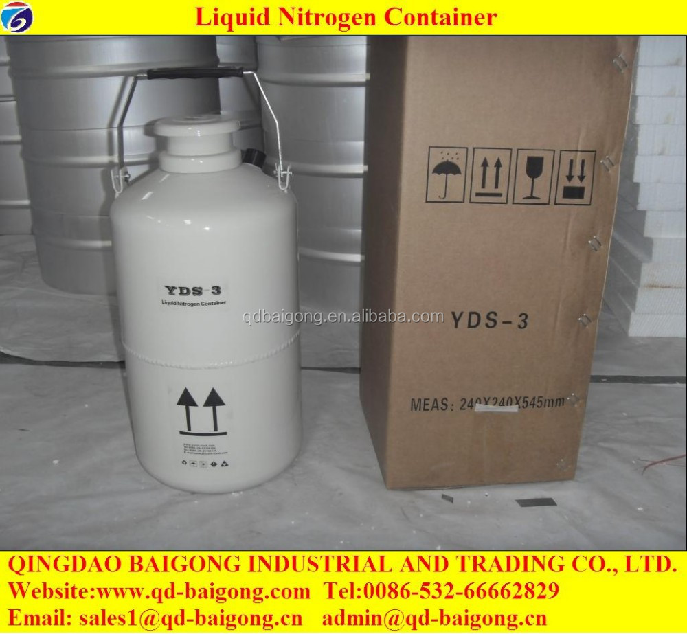 Frozen Semen Liquid Nitrogen Cryogenic Storage Tank