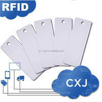 Wholesale custom printable rfid waterproof clothing RFID UHF Tag for Clothing Management