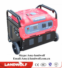 Electric start/OHV engine/silent gasoline generator Portable Small Gasoline Generator