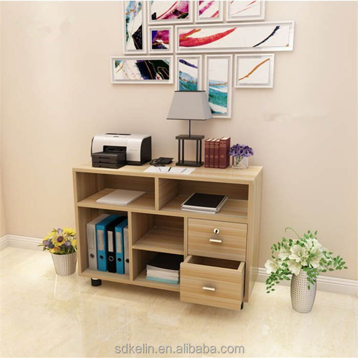 Storage cabinet narrow with two drawers