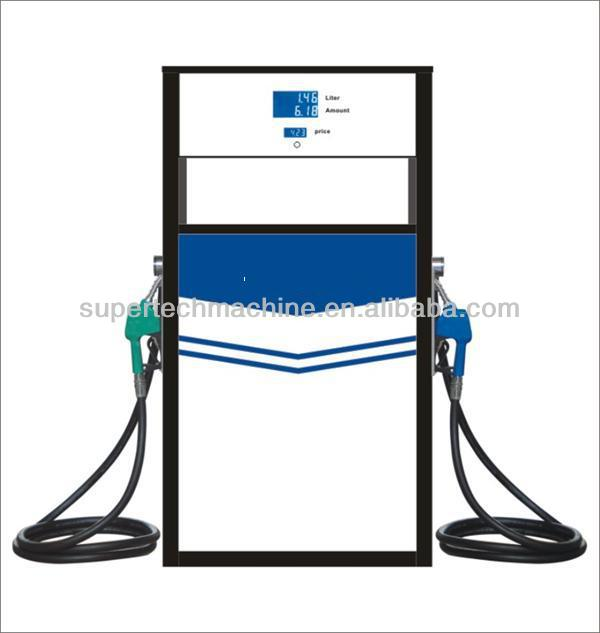 used fuel dispensers for sale filling gasoline and disel oil with 2 nozzle 2 display fuel dispenser