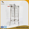 New type Acrylic extractor 2 frames transparent manual honey extractor
