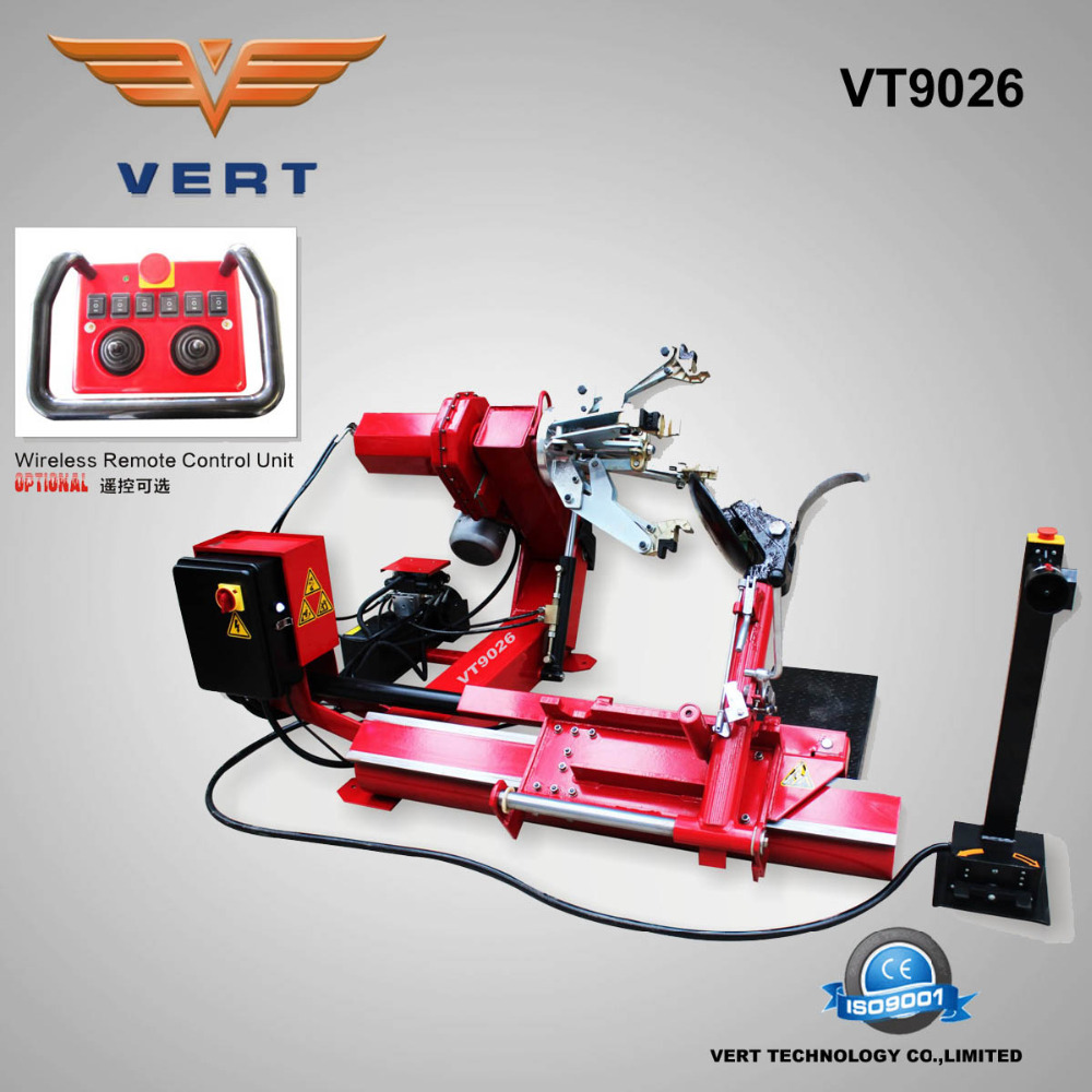 VT9026 rim 14-26 truck tire mounting machine for wheel changing