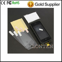 wholesale Screen Protector Anti-Glare LCD Screen Protector with Cleaning Cloth for iPh one 3/3GS