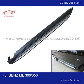 MERCEDES-ML300/350 side step,running board for ML300/350,auto foot plate/pedal plate