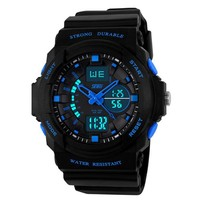 Accept Mix Order & OEM & ODM 3 ATM Strong Waterproof Branded Sport Man Watch