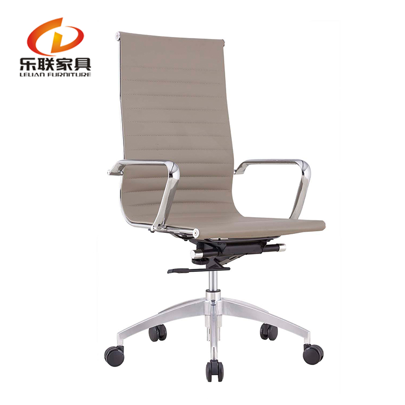 Emes Style Swivel Executive Ripple Leather Office Chair Standing chair