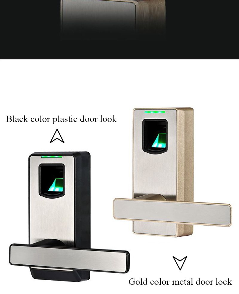 2016 New Design Android/IOS Support Bluetooth Security Biometric Small Fingerprint Door Lock (HF-LA100M)