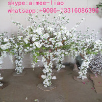 Q012801 Artificial Cherry Blossom Tree White