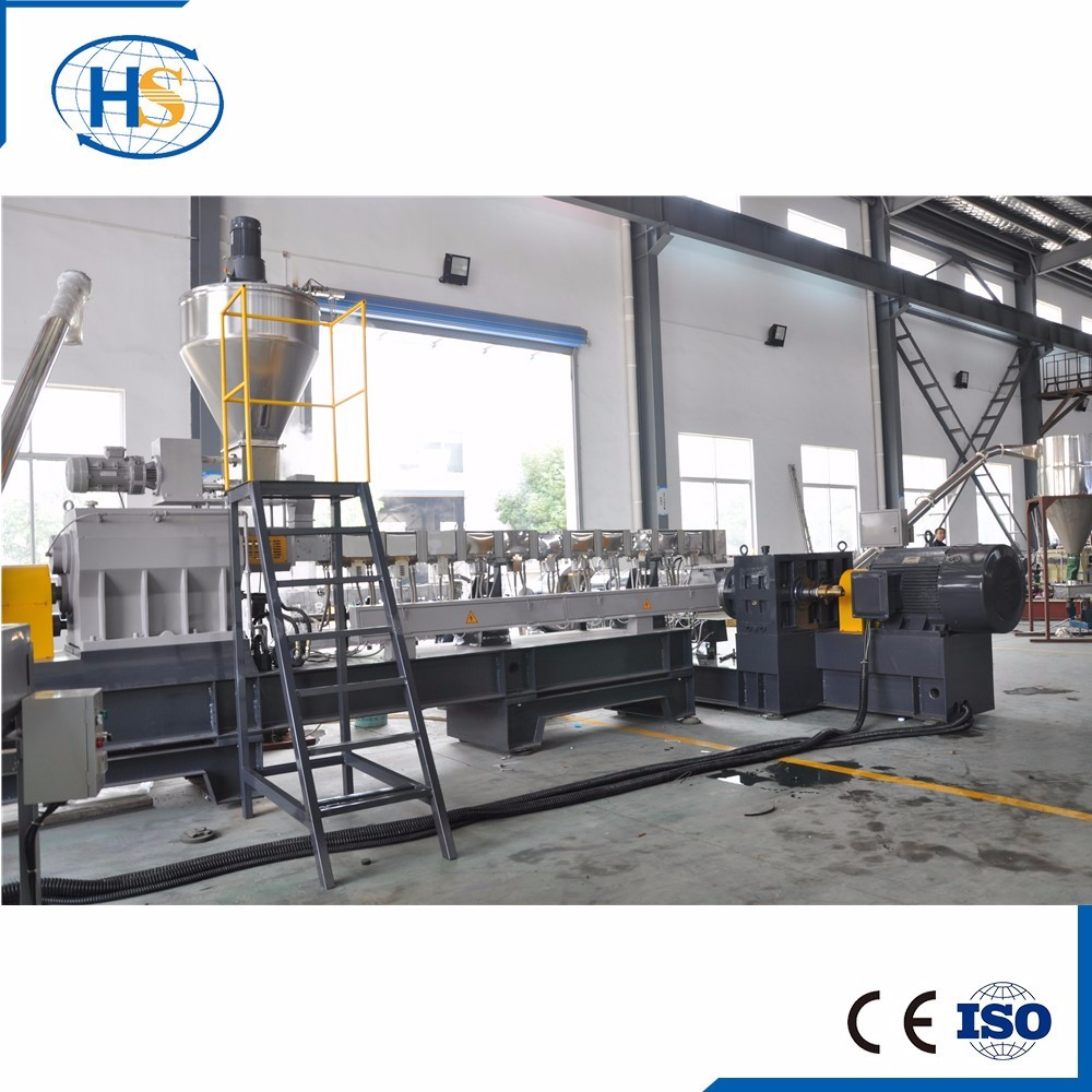PVC Cable Material Granules Pelletizer Two Stage Extrusion Machine