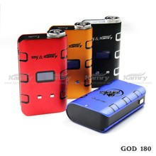 Kamry Original 180W Electric Ciga Vapor God 180 Vaping Mod, Clone IPV V2 E Cigarette