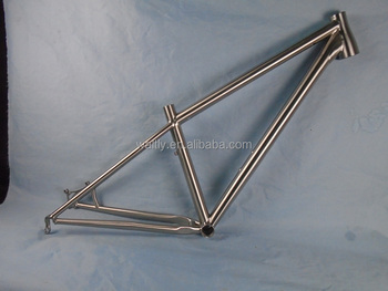 2015 Titanium MTB frames 29er with internal cable routing