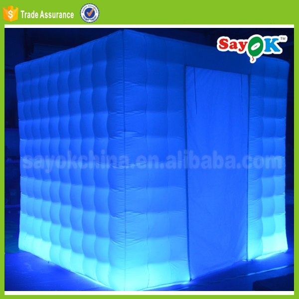 cheap party decoration used inflatable photo booth for sale