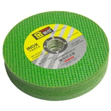 4 inch 1.2mm en12413 standard cutting disc green double net wa cutting disc for inox