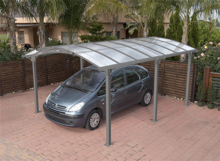aluminum carports car parking canopy with polycarbonate roof