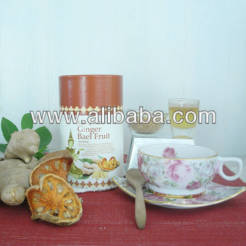 Thailand Natural Ginger Herbal Tea mix Bael Fruit with nice package