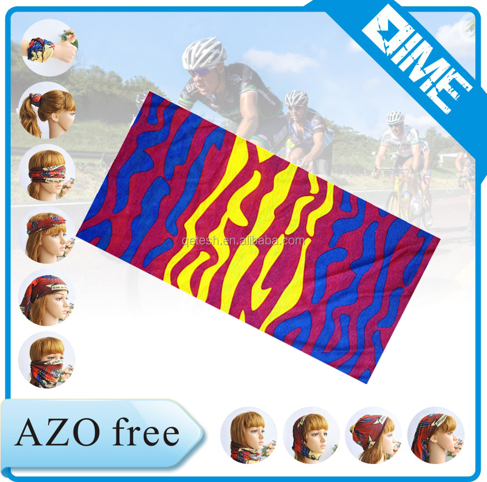 Promotional Skiing Best Selling Breathable Yoga Printing Tubular Bandana