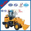 Low Price Chinese 0.5CBM Bucket Used Bobcat Wheel Type Steer Loader For Sale