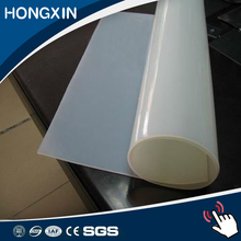 Transparent silicone thin 3mm thickness rubber sheet