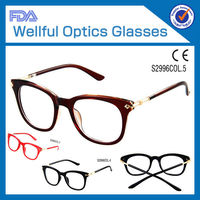 2014 hot sell fashion good TR90 materail wholesale acrylic reading glasses display stand