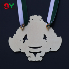 2017 fashion custom ODM OEM 3D shiny printed sports fitness medal zinc alloy miraculous medal for competition games