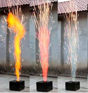 Cold Fireworks Reusable DMX control COLOR COLD PYRO machine