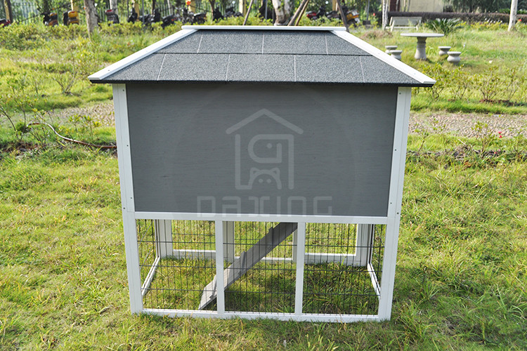 Eco-friendly outdoor fashional fir wood wooden rabbit hutch