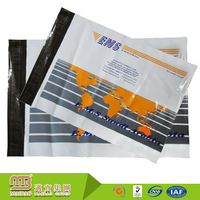 Attractive promotional custom logo printing never rub off plastic mailing bags manufacturer