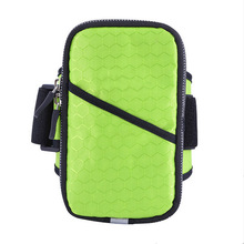 Convenient sports bag running cell phone arm pouch for men