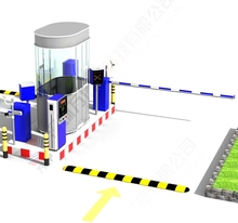 RFID Automatic Gate System,Factory Price for Rfid Automatic Car Parking Gate System