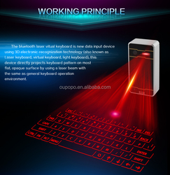 Hot Sale Product for Electronic Shop from China Golden Supplier OP-K01 Wireless Projection Laser Keyboard with Speaker Function